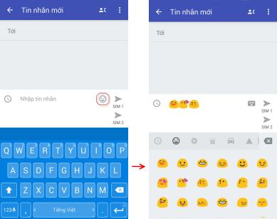 Tin nhắn Emoji